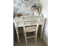 'Cheeky Charlie' dressing table/desk with matching chair