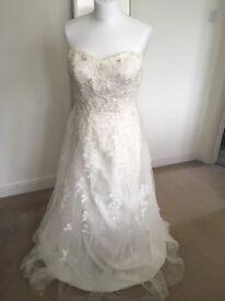 Wedding Dress, size US 10