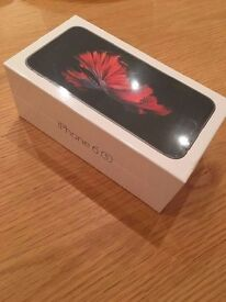 Sim Free Apple iPhone 6s 64GB Mobile Phone - Space Grey - Unopened.