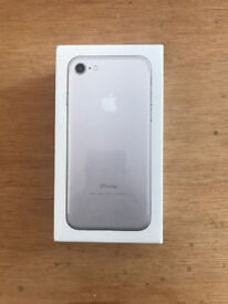 **Brand New Sealed Apple Iphone 7 256GB SILVER O2 /TESCO/GIFFGAFF **