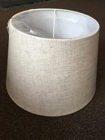 Large Brand New Beige Lampshade