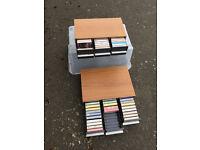 Music cassettes, all originals
