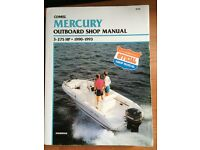 Mercury Outboard Workshop Manual all engines 1990-1993