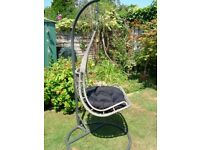 EGG SWING CHAIR VERY STYLIST AND COMFORTABLE