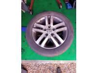 Vw mk6 golf 16 inch alloy wheels (5x112)