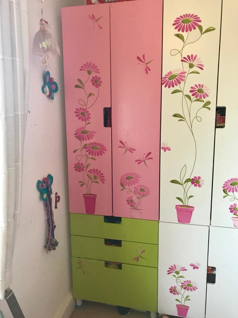 Ikea Stuva Childrens Wardrobes x 2