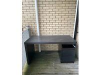 Desk Ikea black