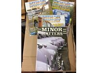 Over 50 Morris Minor Club Magazines 2004 to 2017