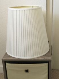 IKEA cream Lampshades X 2