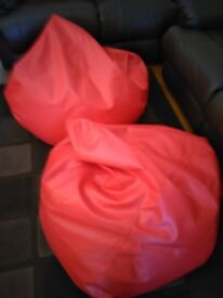 EXCELLANT CONDITION BEAN BAGS £15 the pair or £10 each