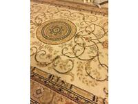 Pattern rug good size