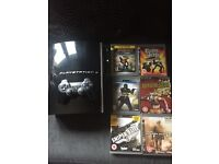 PS3 80 gb with six games and controller good condition 50 pound pr nearest offer