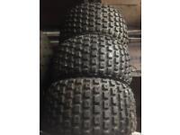 3 x Duro 16x8-7 Quad ATC Trike Tyres