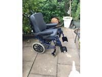 Tilt In Space Wheelchair, Good condition throughout, (invacare)