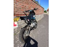 Road legal pitbike 125cc (Welsh pitbike)