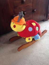 Mamas and papas ladybird rocker . Excellent condition.