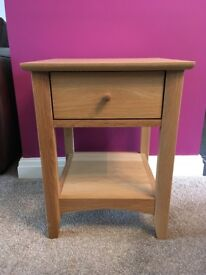 John Lewis Alba Lamp Table Oak RRP £139