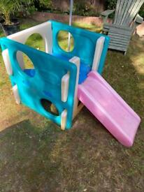 LITTLE TIKES CUBE CLIMBER WITH SLIDE