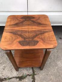 Vintage table on wheels FREE DELIVERY PLYMOUTH AREA