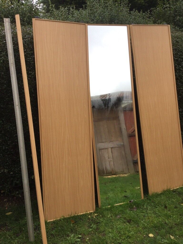 B & Q Sliding Wardrobe Doors and Track | in Southampton ... B And Q Sliding Wardrobe Doors Track on