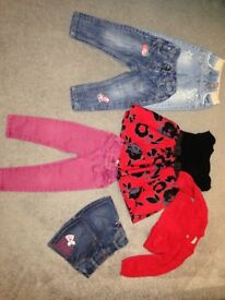Girls clothing bundle age 18-24 months