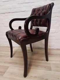 Button Back Desk Chair (DELIVERY AVAILABLE FOR THIS ITEM OF FURNITURE)