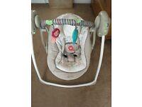 Bright start baby swinging chair