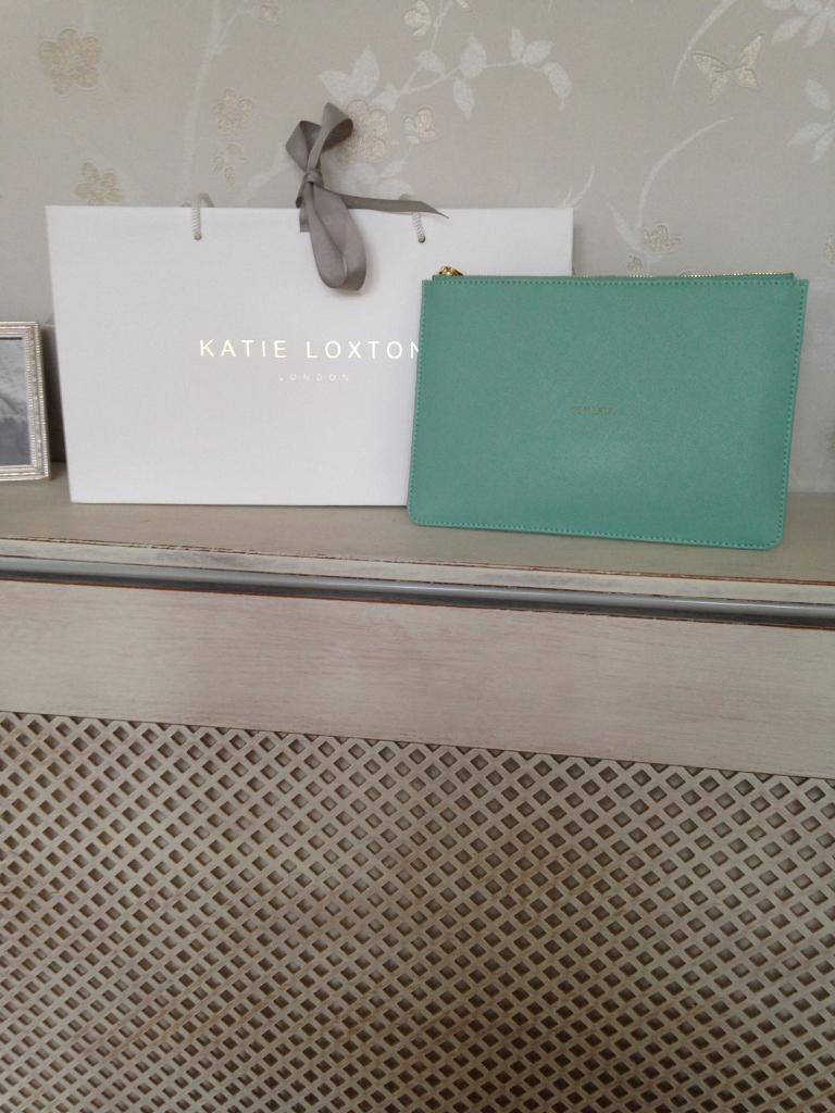 Katie Loxton clutch purse.