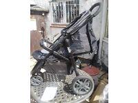 Jole litetrax3 pushchair