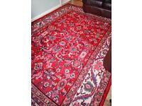 XL Persian Handmade Wool Rug
