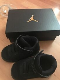 Jordan's infant shoes size 5.5