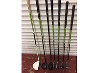 Children's JAXX golf clubs