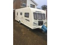 Bailey Pegasus 524 Caravan for sale 2010 £9500, Water Egress warranty and fully serviced.