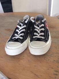 Designer sand shoe play converse