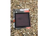 K and n air filter only 2000k on it