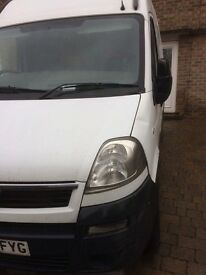 Vauxhall Movano 2.5 Diesel (Spares and Repairs) £650