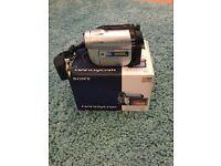 Sony dcr-dvd110e digital camcorder