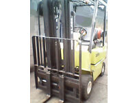 Gas Forklift Triplex Mast S/S *CONTAINER SPEC *LOLER & PUWER Cert * Not diesel *FREE LOCAL DELIVERY*