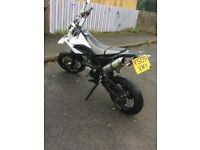 Yamaha WR125x 09plate very clean bike for the age