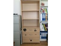 Bedroom Chest and Shelf