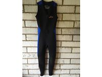 Wetsuit made by Sola - Sleeveless Long John style 2/3mm - ideal for canoe or kayak enthusiast