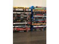 Blu-Rays and DVDs - everything in photo