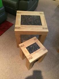 Side/lamp nest tables