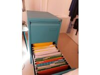 OFFICE FILING CABINET - TWO DRAWER - A4 SIZE IN GREAT CONDITION
