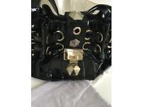 Jimmy Choo black handbag/bag