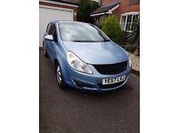 Vauxhall Corsa 2007 57 1.4 Design A/C cheap to run good condition