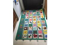 Alphabet play mat