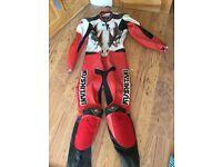 Motorbike leathers kushitami, size large excellent condition