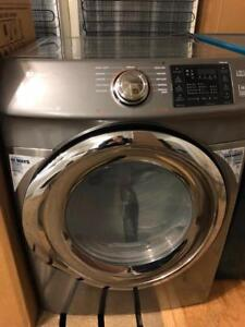 Samsung Grey 27 Wide STEAM Dryer, Free 30 Day Warranty, Save The Tax Event