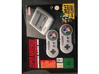 Super Nintendo mini brand new